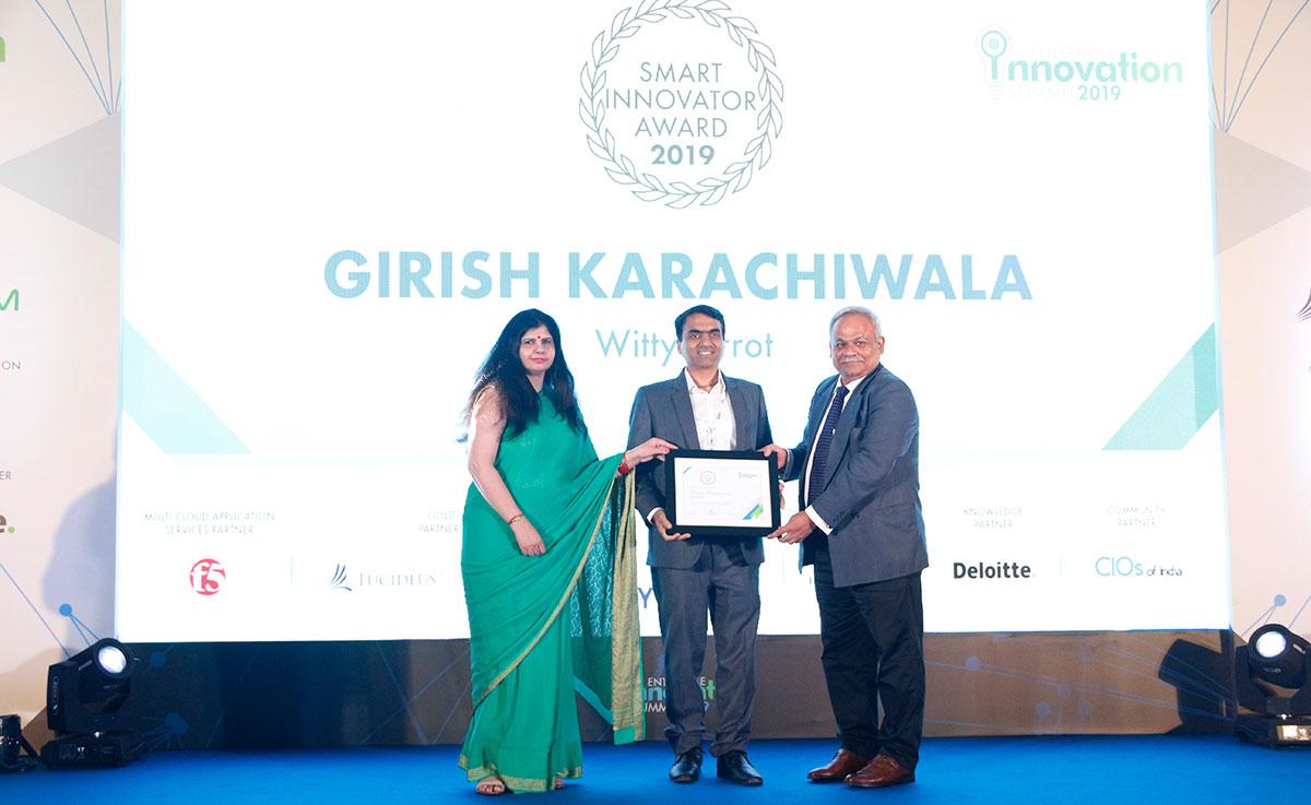 Girish Karachiwala Smart Innovator Award